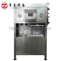 Electric Beer Can Filling Machine , Semi Automatic Beer Can Filler Easy To Operate
