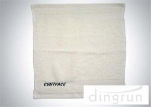 China Commercial Hand Towels Bathroom , Small Guest Hand Towels Azo Free on sale