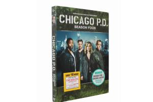 China Wholesale Hot Selling Chicago P.D. Season 4 Movie The TV Show Series DVD on sale