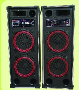 China 2.0CH active DJ speaker with function USB/SD/FM on sale