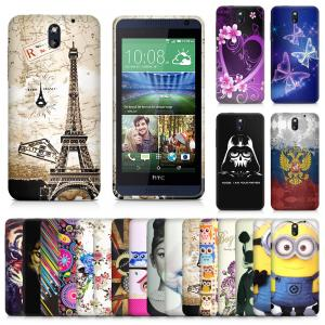 China Durable Jeweled desire 610 thin HTC Cell Phone Cases ultra clear and soft on sale