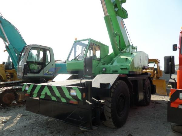 USED KOBELCO RK250-II Rough Terrain Crane for sale original