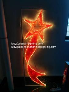 China christmas street decorations led pole light motif on sale