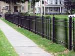 Decorative iron fence/ Wrought iron fence/ Ornamental fence/ steel fence for home and garden decoration Europe style