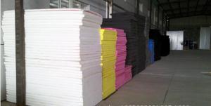 China Feuille adhésive noire de mousse d'Eva pour produire le tapis de souris, 2 - 50mm on sale