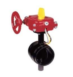 China Fivalco Fireriser Grooved Butterfly Valve on sale
