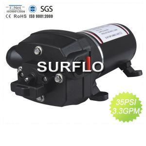 China SURFLO 17L/Min 40 PSI High flow 12 volts pump for caravan, marine on sale