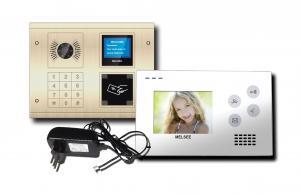 China MS305C+MS401C Video Door Phone  Vandal Resistant Flush Mount Cat5 Entry Door Building System on sale