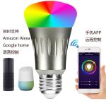 Smart Home Wireless WIFI E27 LED Bulb Smart Power Socket Timer Switch Remote Control Work For Amazon Alexa Voice APP By