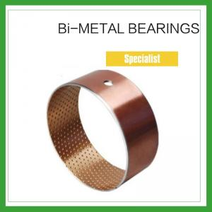 China High Load Cylindrical Bimetal Bushing Inner Sintered layer for Agricultural Machinery on sale
