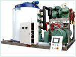 Máquina del fabricante de hielo de la escama de los refrigerantes R507 para el supermercado 380 voltios