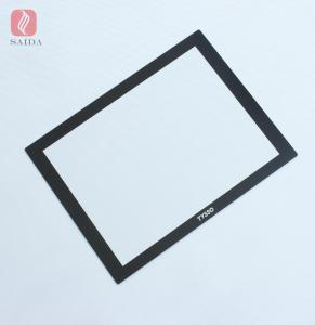 China custom 1.1mm 2mm 3mm strengthened tempered glass for HMI Touch Panel Industrial PC Automation Panel on sale