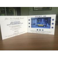 TV & Movie Character Theme and Gift Card Card Type 7inch LCD screen advertising video card A5 size paper