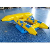 China Towable Inflatable Flying Fish , Inflatable Banana Boat 2.8 * 2.6 Meter on sale
