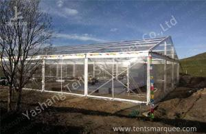 China Wind Resistant Transparent Fabric clear event tent Canopy Strusture on sale