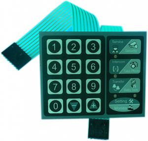 China Matrix sealed tact membrane switch manufacturer from China on sale