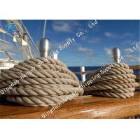 China High Strength Marine Mooring Rope Powerful Marine Towing 12 Strand 6 - 160mm Diameter on sale