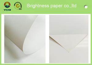 China Papier d'art personnalisable de la blancheur C2S pour le label et l'illustration imprimés on sale