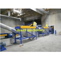 Stainless steel PET Plastic Bottle Recycling Machine With Label Peeling Machine