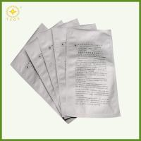 Electronic components packaging Aluminum zipper bag used for vacuum sealing barrier bags