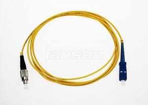 China Customized Length Simplex SC To FC Patch Cord Low Insertion Loss / High Return Loss on sale