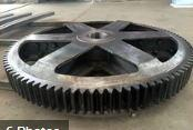 China Awning big grinding wheel marine gear Good Quality Helical Gear for Heavy Duty Machinery on sale