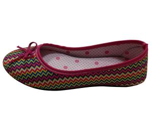 China Ladies Injection dress shoes,colorful upper,PVC outsole on sale