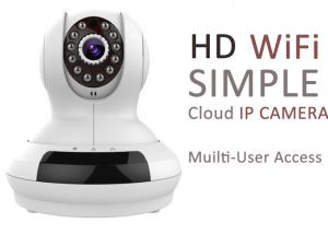 China Multi User Access HD Cloud IP Cameras Network 1fps - 30fps Frame Rate on sale