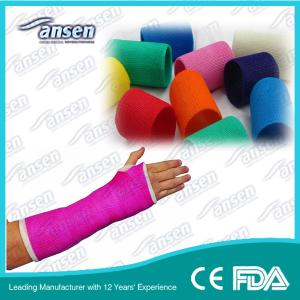 China 4inch Arm Fracture Fiber Fix and Support Fiberglass Casting Tape on sale
