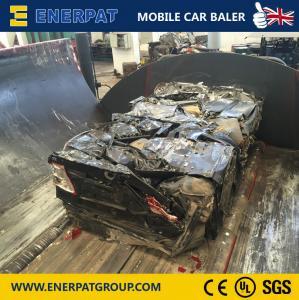China UK Brand Scrap Car Baler/Car Body Baling Machine on sale