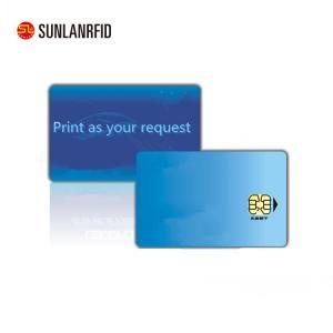 China ISO/IEC 7816 Protocol Blank FM4428 SLE5528 Contact Smart Card on sale