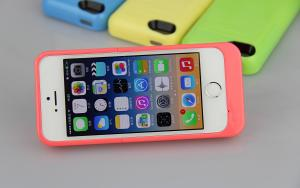 China Rechargeable Battery Cover iPhone Battery Case for iPhone 5 with Flip Cover Optional on sale