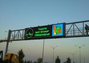 China LED Traffic Warning Sign on sale