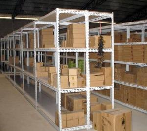 China Warehouse storage Steel Pallet Shelving ISO passed  L900*W300*H1600 / H1800 on sale