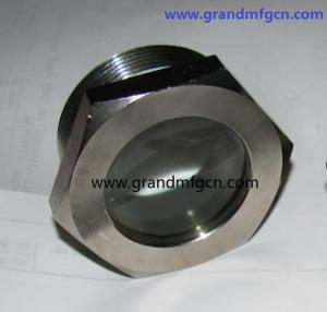 China G 1carbon steel fused oil level sight glass male BSP thread professional manufacturer and seller on sale