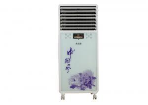 China Commercial Low Noise Portable Air Coolers For Shopping Mall , 18m / s 1500m3 / h on sale