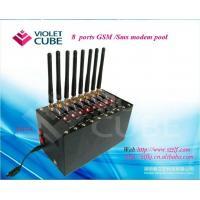 8 sim card sms modem pool to send & receive bulk sms /mms