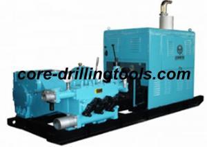 China Portable Triplex Drilling Mud Pump 200L/min - 1500L/min Discharge on sale