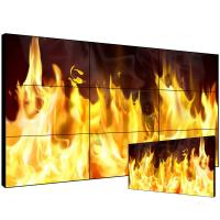 China 55'' 3x3 TV splicing advertising player LCD video wall display on sale