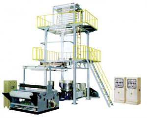 China Wenzhou Vinot Top Quality Double Layer Film Blowing Machine with Various Screw Diameter Available 2SJ-G60 on sale