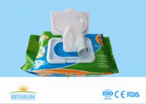 China Alcohol Free Baby Wet Wipe For Private Label , Plain Non - Woven Spunlace on sale