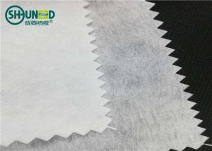 China Airlaid 90gsm polyester/viscose cut away nonwoven embroidery backing paper fabric on sale