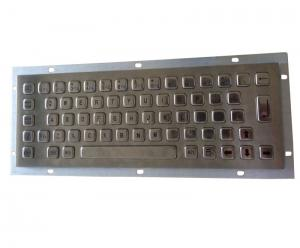 China Panel mount stainless steel keyboard for military portable PC working -20 Celsius degree on sale
