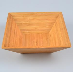 China Square Bamboo Salad Bowl on sale
