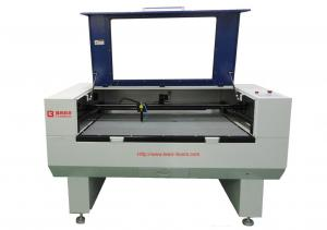 China PU Leather Laser Cutting Machine , Laser Cnc Cutting Machine For Trademark / Embroider on sale