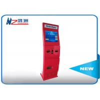 Free standing intelligent kiosk with camare ticket vending dispenser