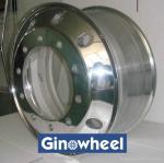 выкованное алюминиевое колесо тележки