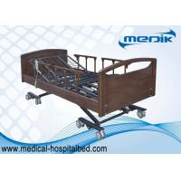 Dual - regress Function Ultra Low Beds , Home Care Beds For Nursing Home