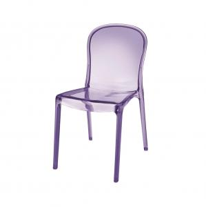 Charmant Victoria Style Clear Polycarbonate Chair , Heavy Duty Plastic Chairs