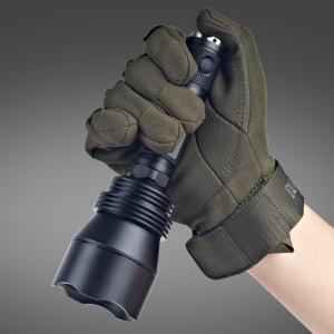 China Self Defense Lumintop T5 Flashlight , Big Attacking Head High Intensity Flashlight on sale